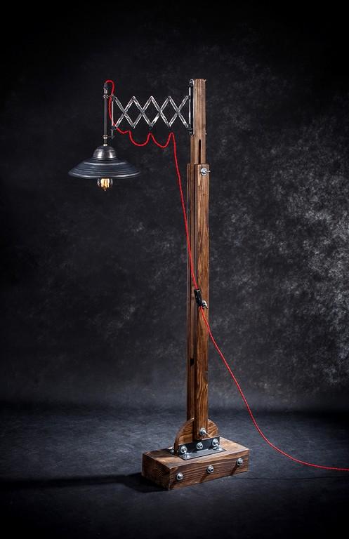 Niewiarygodnie Lampa loftowa stojąca MOKOTOV - krudo.pl FZ61